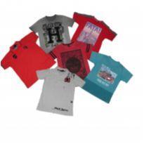 kit 06 camisetas- garoto - 10 anos - Fatal Surf e Red nose