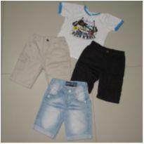 bermudas sarja e jeans - 3 anos - Brandili e DUDYS BOY