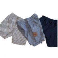 trio de bermudas/shorts