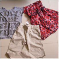 LOTE 03 PEÇAS LINDAS - 14 anos - Black Jeans e Zara