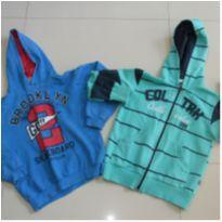 lote/ kit duas blusas frio - jaqueta - 6 anos - Trick Nick e 1big