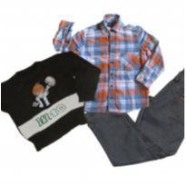 lote 03 roupas menino