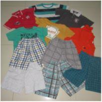 lote 11 roupas menino de 04 a 06 anos