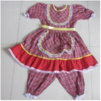 Vestido Festa Junina - Tutti Bella - 10 anos - Tutti Bella