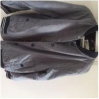 jaqueta infantil masculina bomber - 7 anos - H&M