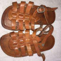 Sandália de couro - 25 - Produto Artesal