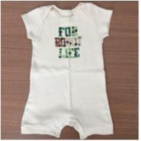 Romper/ macaquinho - 3 a 6 meses - Up Baby