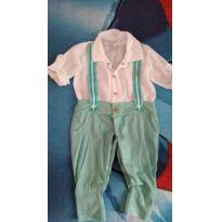 MACACÃO ARRUMADINHO - 0 a 3 meses - Aconchego do Bebê