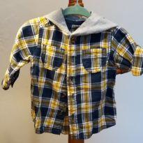 camisa de botao carter`s - 6 meses - Carter`s