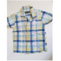 Camisa xadrez - 18 a 24 meses - Up Baby