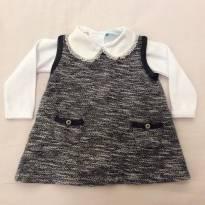 Vestido Tweet Bebê - 0 a 3 meses - Mini & Kids