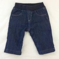 Calça jeans baby - 3 meses - Petit Bateau