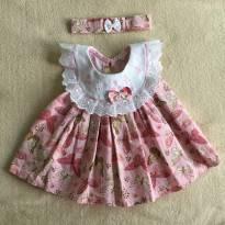 Vestido Borboletas - 3 a 6 meses - Baby Kids