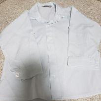 Camisa Social em algodão - 2 anos - Sem marca