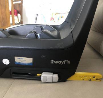 Base com Isofix 2Wayfix Maxi-Cosi - Sem faixa etaria - MAXI-COSI