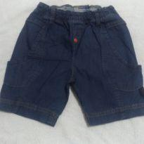 Bermuda Jeans Tigor Baby - 2 anos - Tigor Baby