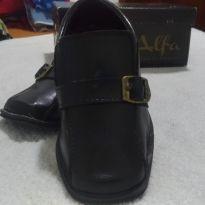 Sapato Social Couro - 23 - Alfa e Beta