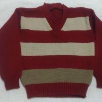 Suéter Blusa de La - 3 anos - Artesanal