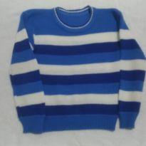 Suéter de La Listrado - 3 anos - Artesanal e Produto Artesal