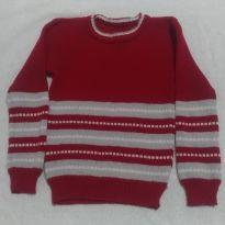 Suéter de Lã Artesanal - 3 anos - Artesanal