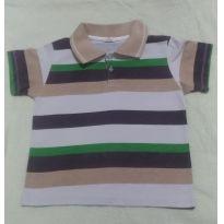 Camiseta Polo - 3 anos - Não informada