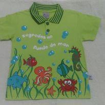 Camiseta Polo - 12 a 18 meses - Alenice