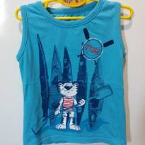 Camiseta Tigor - Tam 2 - 2 anos - Tigor Baby e Tigor T.  Tigre