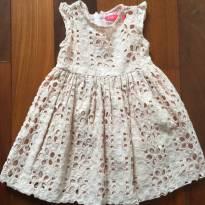 Vestido rose - 1 ano - Póim