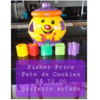 Pote de Cookies - Fisher Price -  - Fisher Price
