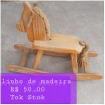 Cavalinho de madeira -  - Tok Stok