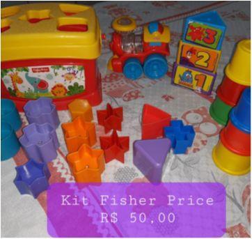 Kit Fisher Price - Sem faixa etaria - Fisher Price