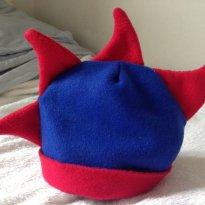 Chapéu Dinossauro Azul e Vermelho Pepopo -  - Pepopo