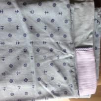 Lençol e fronhas de berço azul - Sem faixa etaria - Incomfral