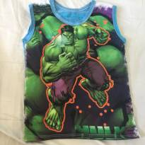Camiseta Hulk - 2 anos - Sem marca