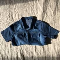 Camisa jeans - 4 anos - Não informada