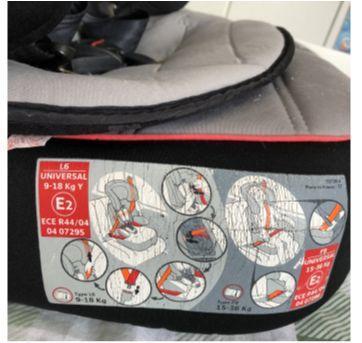 Cadeirinha para carro Mickey Mouse E2 - Sem faixa etaria - Disney