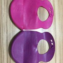 Babador de silicone com porta migalhas - Sem faixa etaria - Tommee Tippee