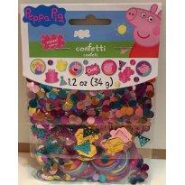 Confetes decorativos Peppa Pig - Sem faixa etaria - Não informada