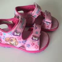 Sandália rosa da Skye Patrulha Canina - 22 - Não informada