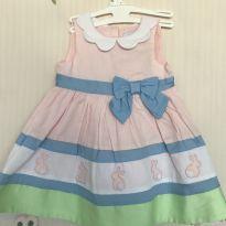 Vestido fofo com coelhinhos - 3 a 6 meses - Maggie & Zoe