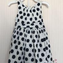 Vestido de bolinhas Oshkosh - 3 a 6 meses - OshKosh