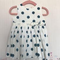 Vestido de bolinhas - 3 a 6 meses - Teddy Boom