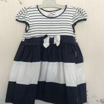 Vestido de Listras - 9 meses - Dolce Lily