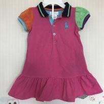 Vestido colorido Polo Ralph Lauren - 6 a 9 meses - Ralph Lauren