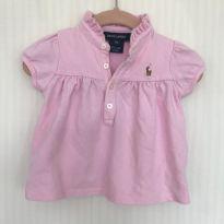 Blusa Polo Ralph Lauren - 6 a 9 meses - Ralph Lauren