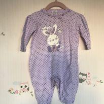 Macacão lilás - 6 meses - Tilly Baby