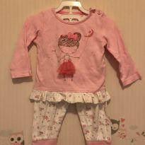 Conjunto da bailarina - 9 a 12 meses - Early  Days