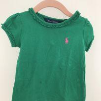 Camiseta verde Polo Ralph Lauren - 9 a 12 meses - Ralph Lauren