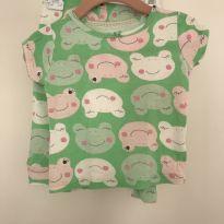 Pijama de sapinho - 6 a 9 meses - Carter`s