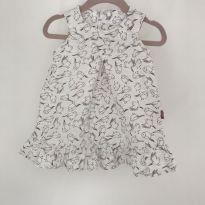 Vestido voa voa passarinho - 9 a 12 meses - Elian